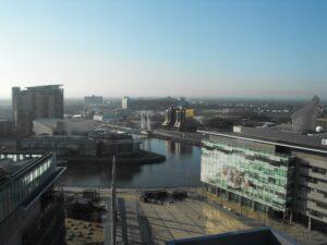 Media City view