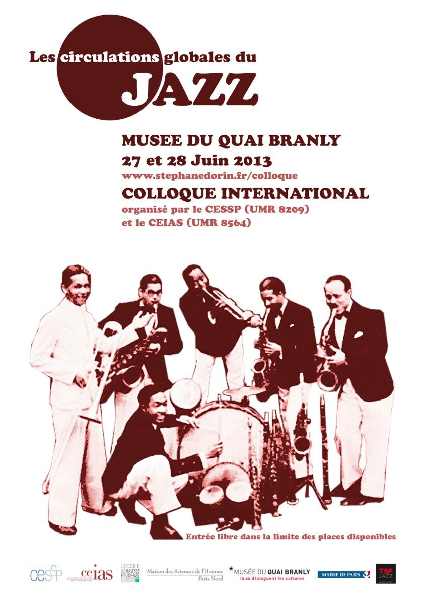 Poster circulations du jazz conference